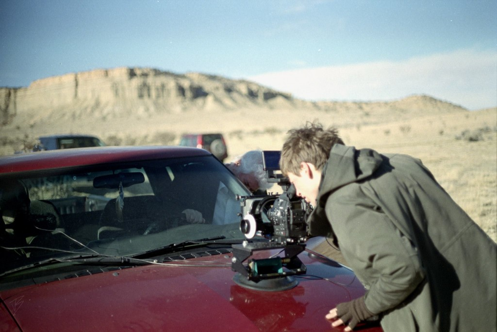Diehl directing Sal and the Goon in New Mexico